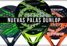 Nuevas palas Dunlop en Padelmania
