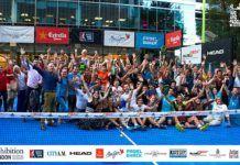 Pop-Up Padel 2018 London: El pádel conquistó con su magia el 'corazón' de Londres