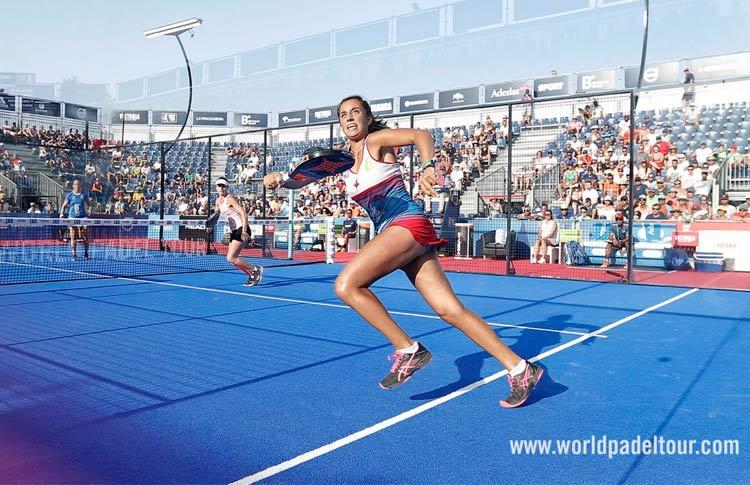 Affina i riflessi ... Bea González, in azione al Mijas Open