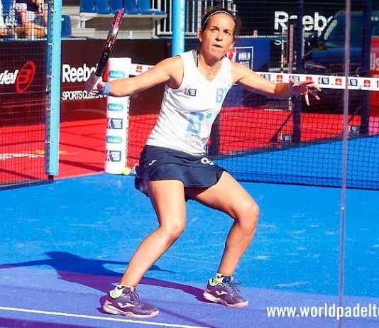 Madrid WOpen 2018: Patty Llaguno, en acción
