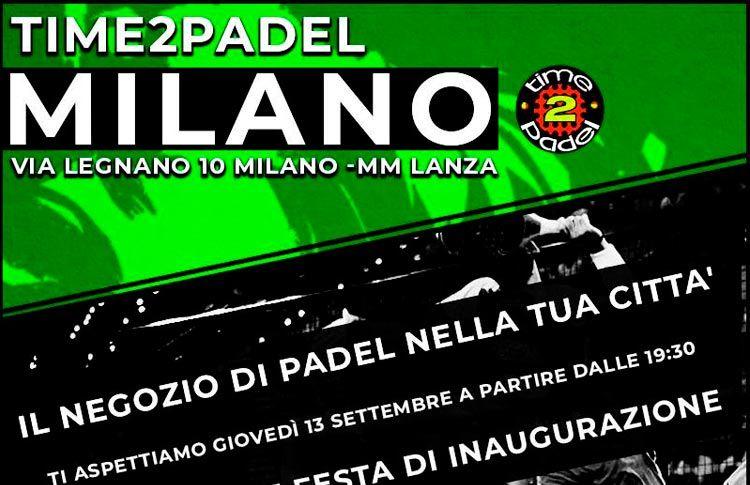 42e60a609 ... Time2Padel ya brilla con fuerza en pleno corazón de Milán