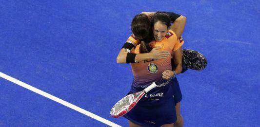 Gemma Triay y Lucía Sainz, campeonas del Granada Open. | WPT