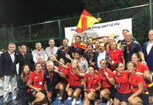 La Selección, campeona del Mundial de Pádel de veteranos. | FEP