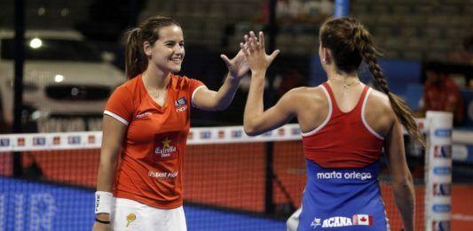 Marta Ortega y Ari Sánchez.