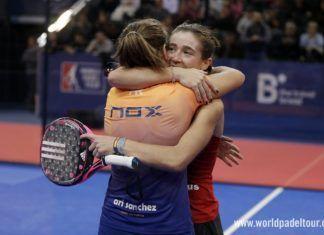 Marta Ortega y Ari Sánchez en el Master Final.
