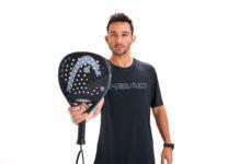 Sanyo Gutiérrez con la Head Graphene 360 Alpha Pro.