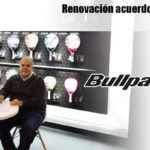 La firma entre la FMP y Bullpadel.