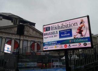 El Brussels Exhibition de 2017.