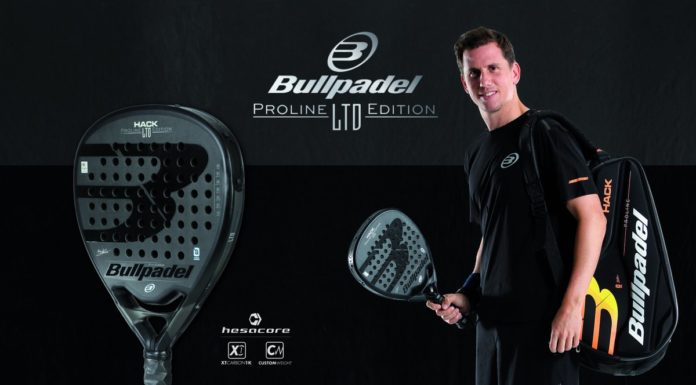 O Bullpadel Hack Limited Edition, a nova pá Paquito Navarro.