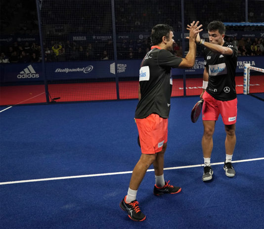 Galán e Lima nel Final Master. | Foto: World Padel Tour