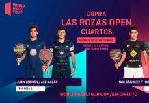 Las Rozas Open: ordre de jeu pour les quarts de finale