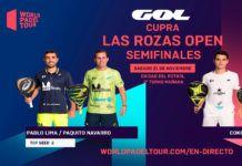 Las Rozas Open: ordine di gioco delle semifinali