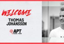 APT Padel Tour renforce son équipe avec l'arrivée de Thomas Johansson