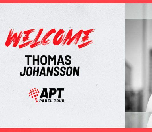 APT Padel Tour rafforza la sua squadra con l'arrivo di Thomas Johansson