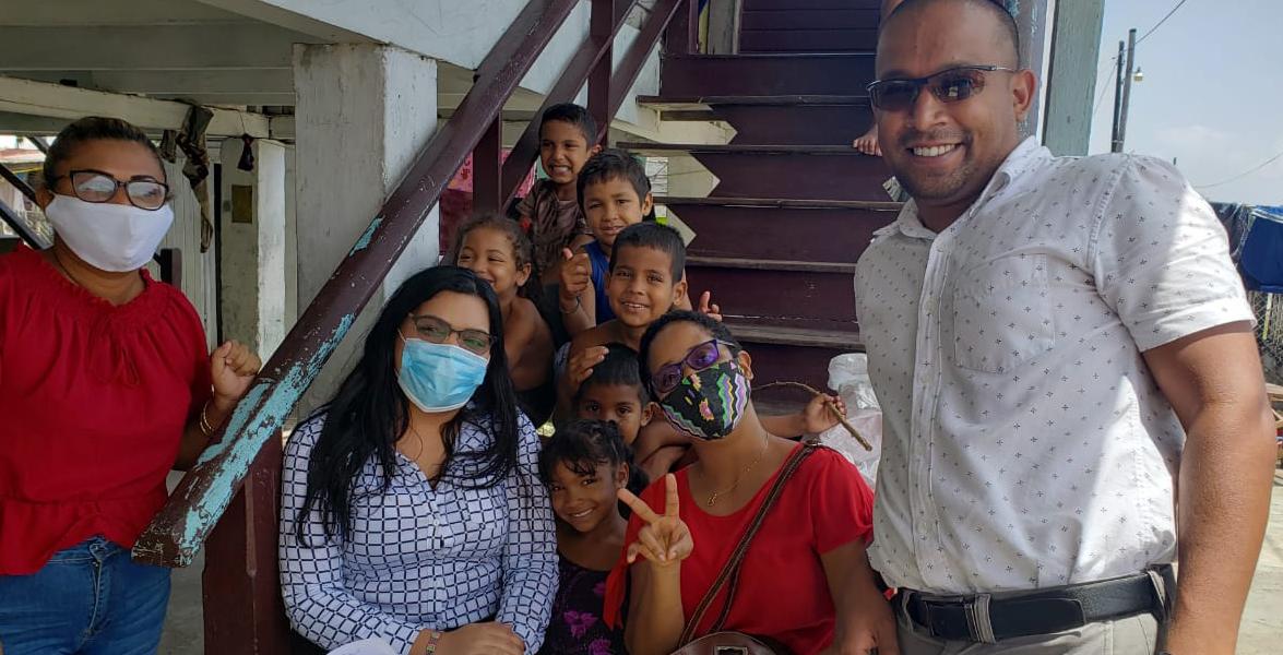 Migrant Children Guyana