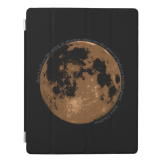 Don't tell me the moon is shining iPad case