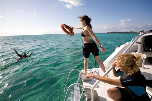 Rescue Diver - Boat Rescue - Flotation Rescue - PADI Rescue Diver