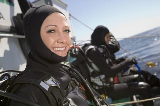 Cold Water Diver - Topside Diver - PADI Diver
