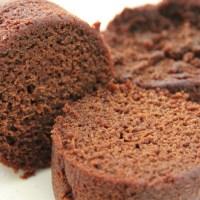 Steamed eggless chocolate cake