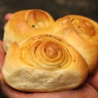 Pav bread  and garlic rolls