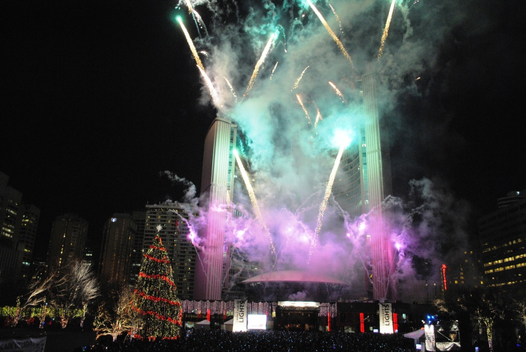 Fireworks - Cavalcade of Lights 2009