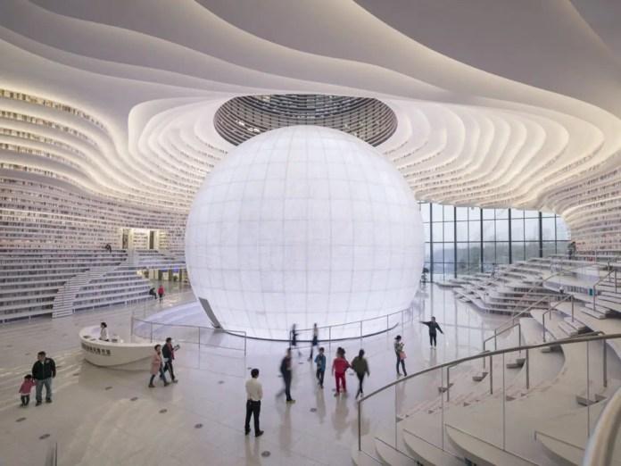 arquitectura futurista china