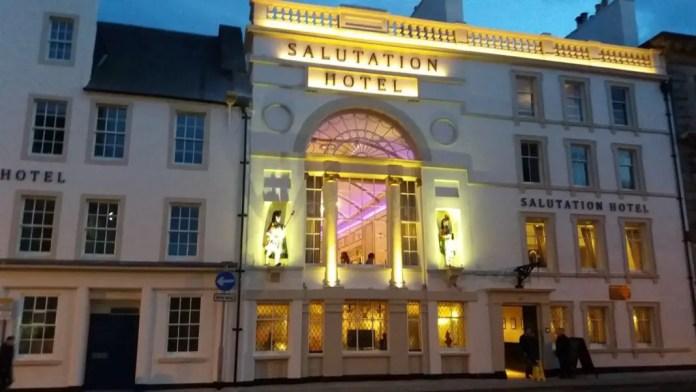 hotel en escocia
