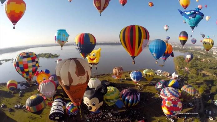 volar en globo en mexico