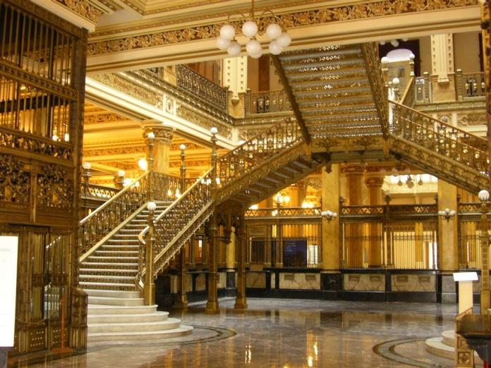 palacio postal estilos arquitectonicos