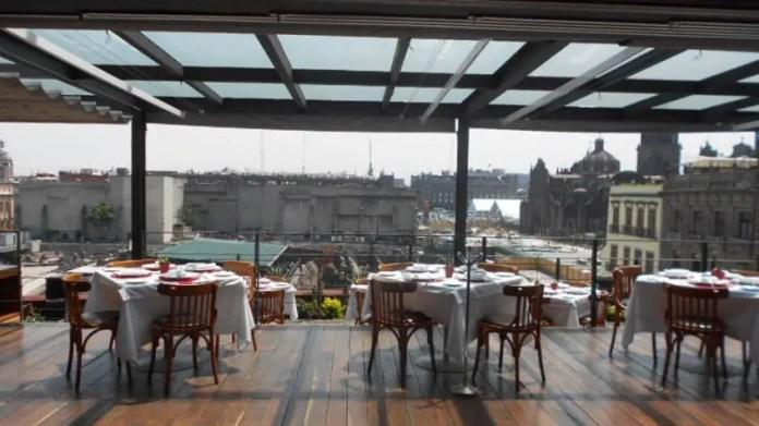 restaurantes en el centro historico de ciudad de mexico