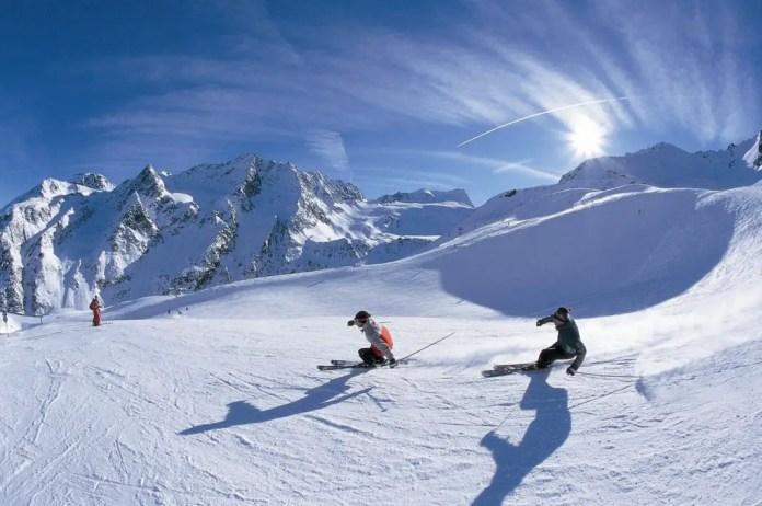los mejores lugares para esquiar en chile