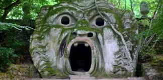 Espeluznante parque en Italia