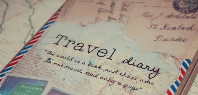 como hacer un diario viajero