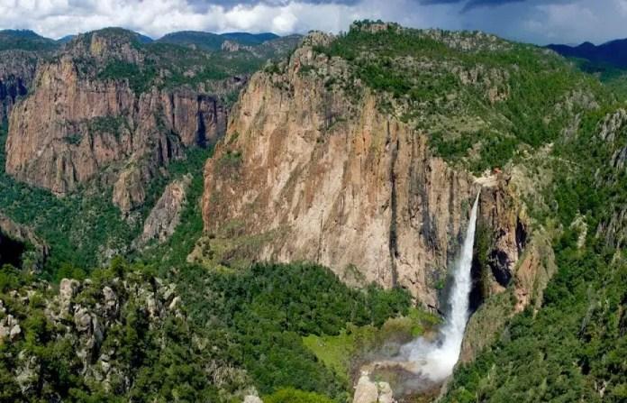 cascadas mas altas en mexico