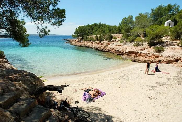 fotos playas ibiza