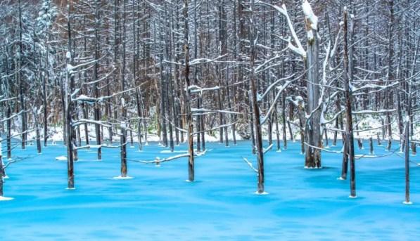 laguna azul japón