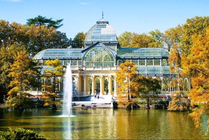Hacer turismo en Madrid: Palacio de Cristal