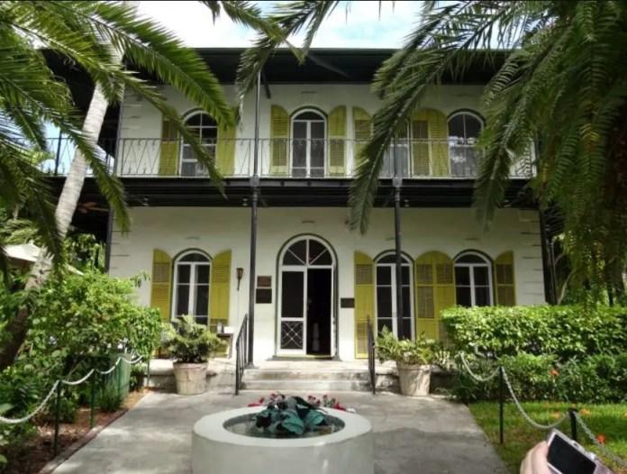 Lugares históricos en Miami:Casa Museo Ernest Hemingway