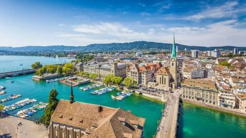 mejores ciudades para vivir en suiza