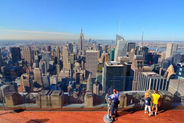 Lugares turísticos New York: Top of The Rock