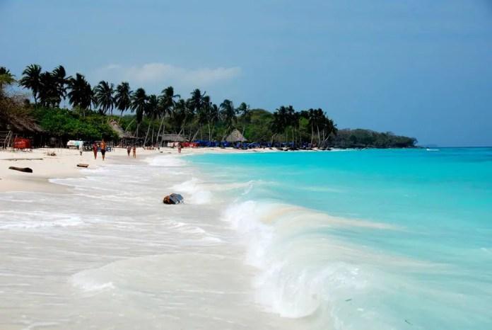 Playas populares de Colombia Playa Blanca