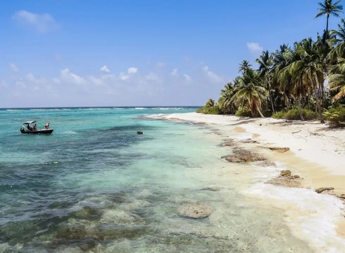 Mejores playas de San Andrés: Playa Paraíso