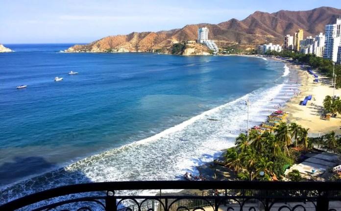 Playas más populares de Santa Marta: El Rodadero