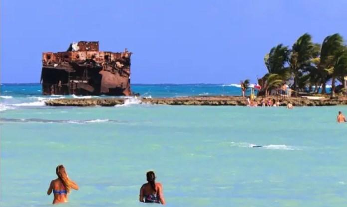 Playas de San Andrés, Colombia: Rocky Cay