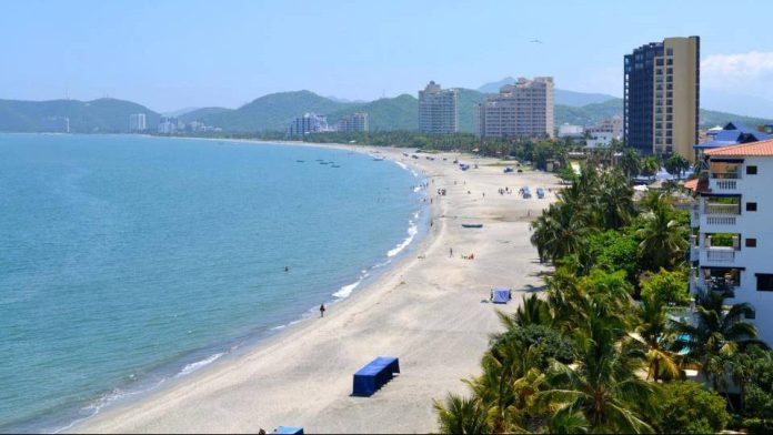 Turismo en Santa Marta: Playa Bello Horizonte