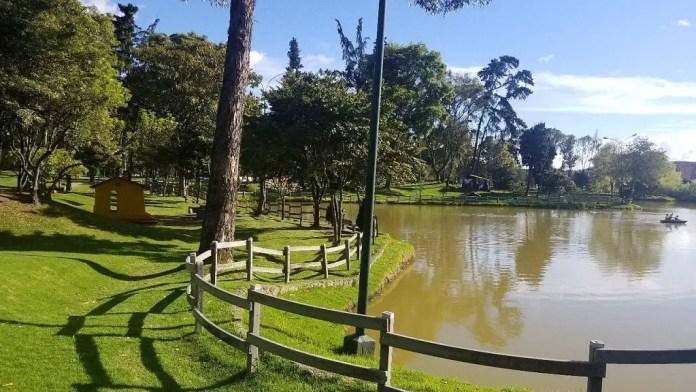 Mejores parques de Bogotá: Parque de los Novios