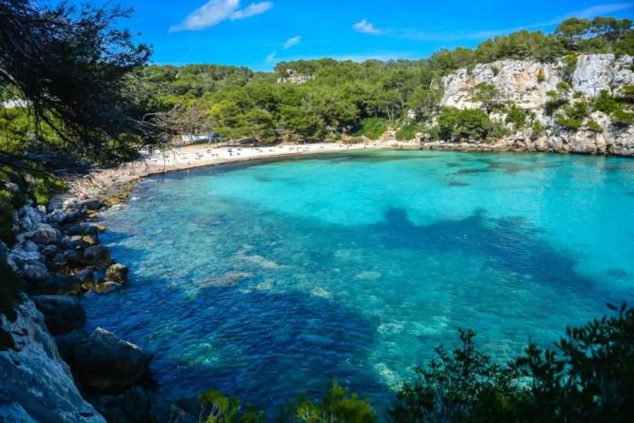 Las mejores calas en Menorca
