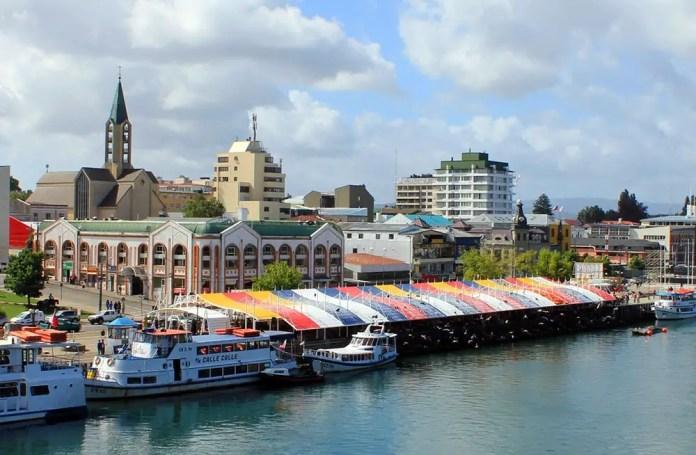 Lugares turísticos en Valdivia, Chile