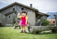 pueblo de heidi en Suiza