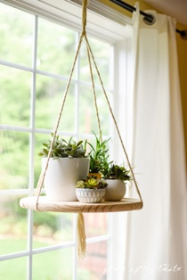 Floating Plant Shelf